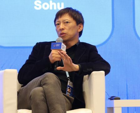 搜狐公司CEO张朝阳表示5G基站辐射很小对人体没什么影响