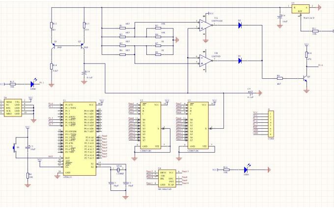 使用AT89S52单片机设计集成电路开短路测试的资料说明