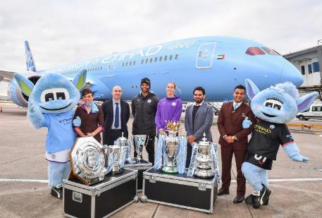 阿提哈德航空正式迎来了一架全新的波音787-9梦...