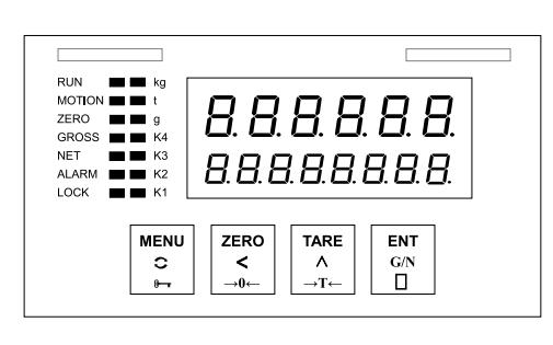 SBT980压力传感器测力称重控制数显表说明书免费下载