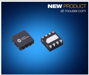 MOUSER launches Maxim MAX4002x high speed comparator
