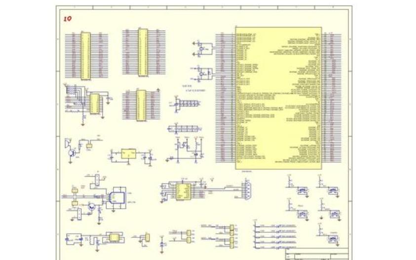 STM32F103ZET6的PCB和原理图免费下载
