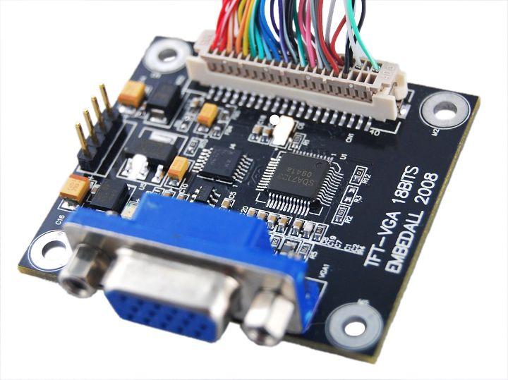 TFT-VGA模块供电方式介绍