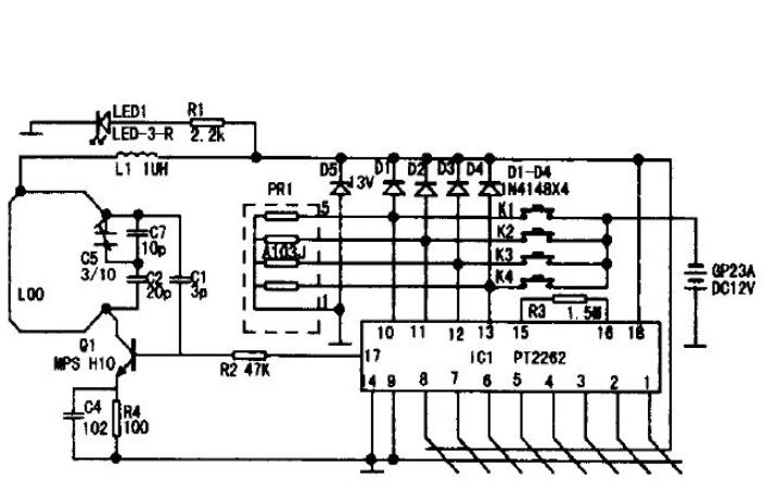 无线电遥控器的特点及简单原理与干扰源的分析说明