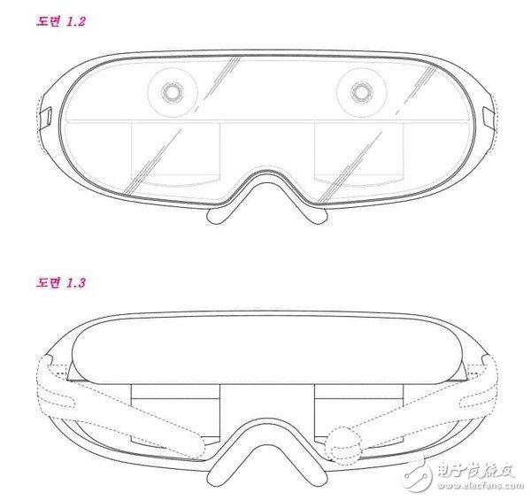 三星VR眼镜专利图曝光,采用传统外观设计