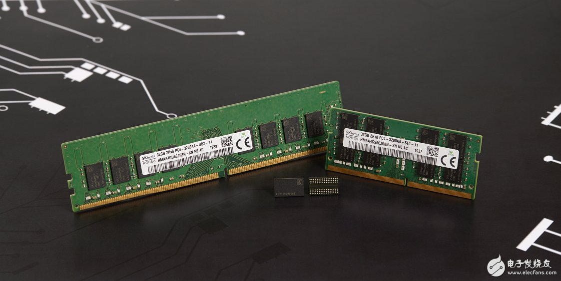 SK海力士宣布开发适用第三代1Z纳米的16Gb DDR4 DRAM