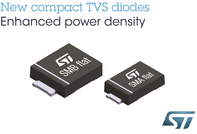 STMicroelectronics Introduces Instant Suppression Diode