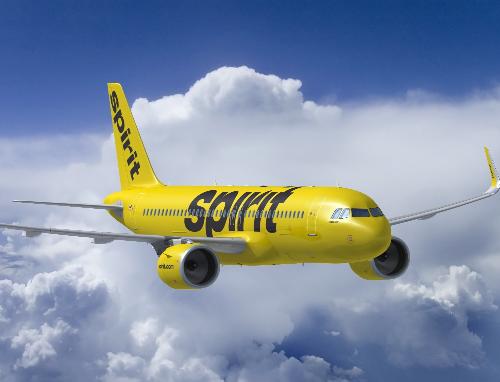 精神航空公司承诺将订购100架空客A320neo...