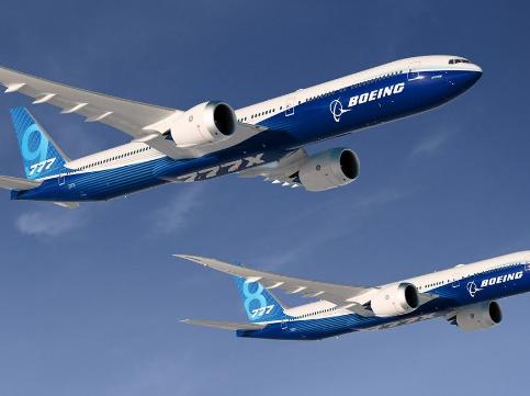 波音公司计划将在2021年初交付首架777X飞机