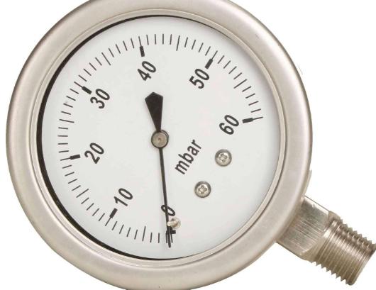 不銹鋼壓力表的安裝說明及注意事項