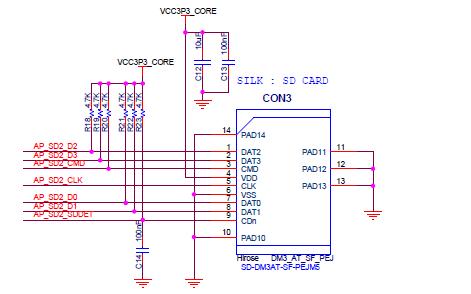 NXP4330智能语音调试板的电路原理图免费下载