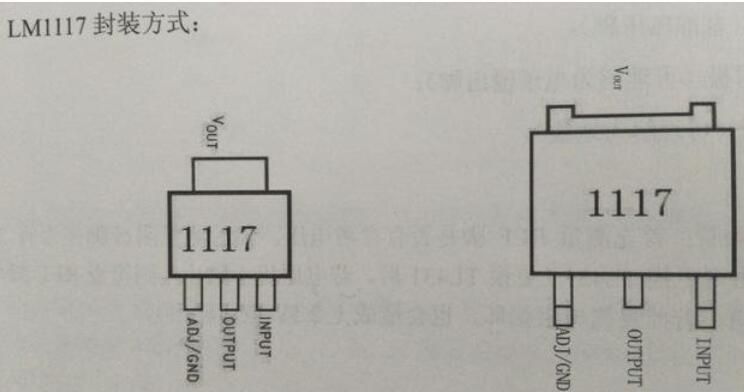 LM1117调节电压芯片的使用方式