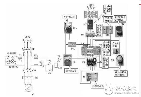 五款电路的常见接线方式
