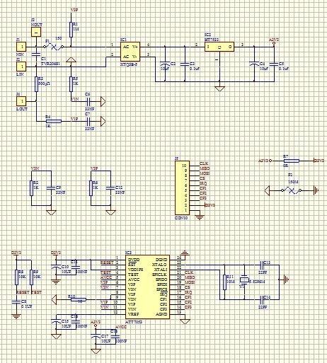 基于LPC1114单片机与ATT7053芯片的智能电表设计