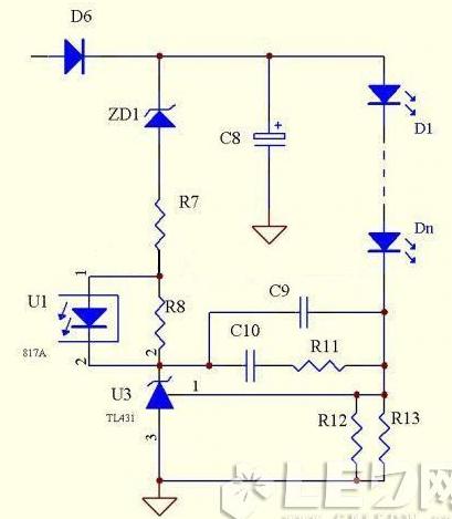 LED照明电源的几种次级恒流方式介绍