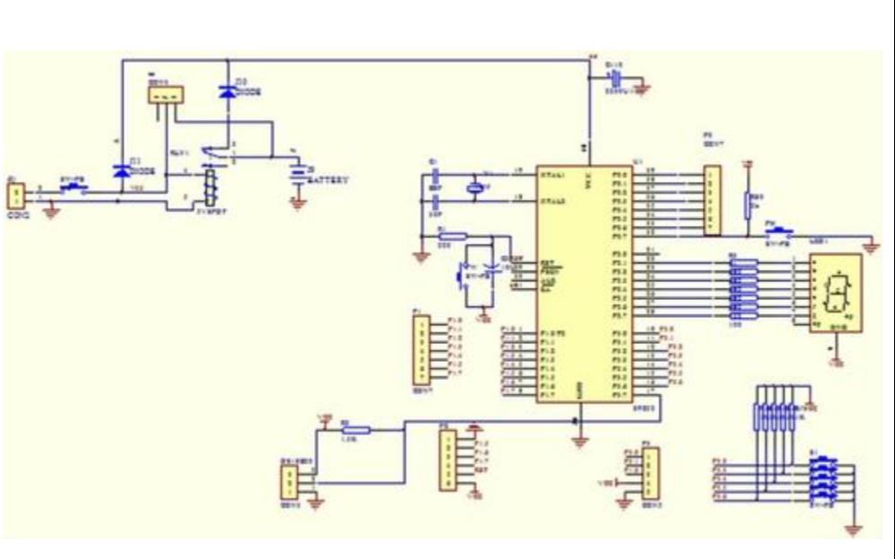 AT89S52单片机的中断系统学习教程免费下载