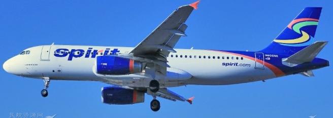 精神航空计划于今年年底将七架空客A320neo从...