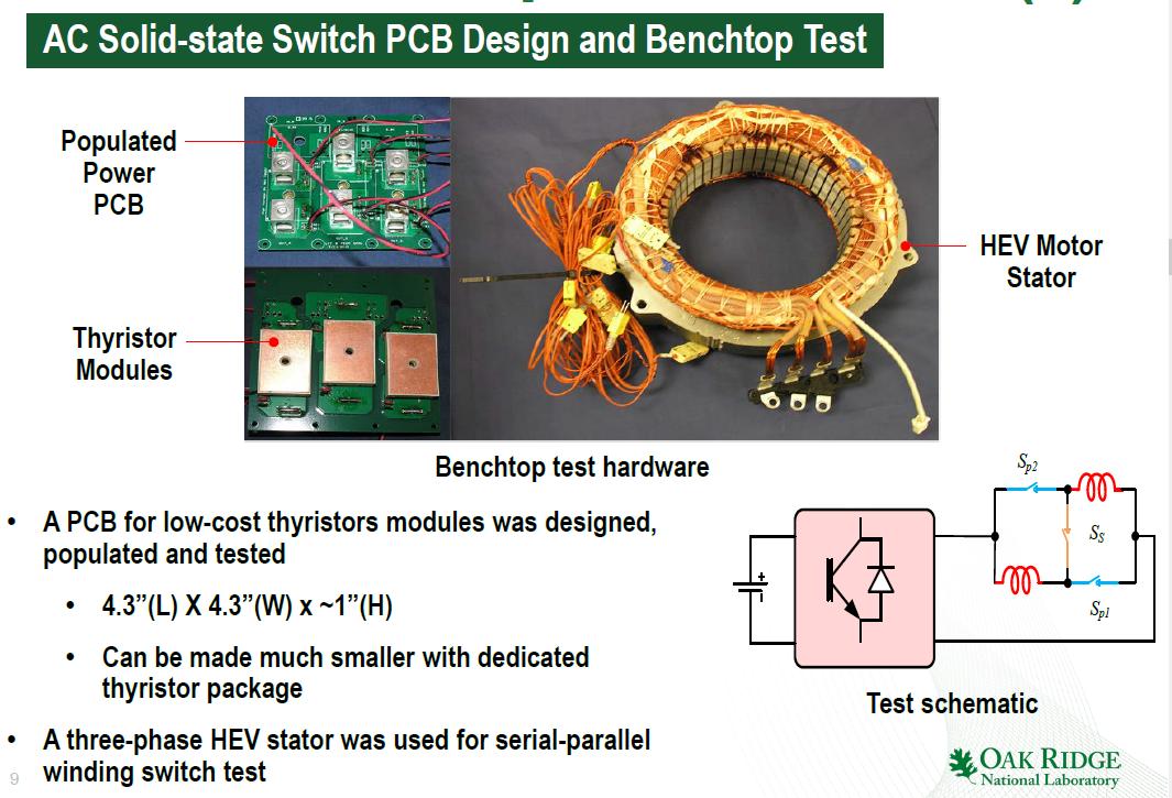 橡树岭国家实验室提供的电机性能提升技巧。