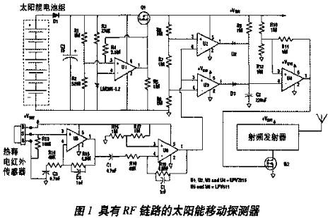 采用能量收集器件实现远程无线自供电传感器的方法
