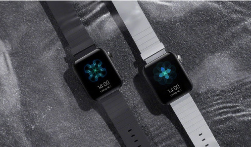 小米手表真机照片曝光采用了方形表盘和数码表冠设计