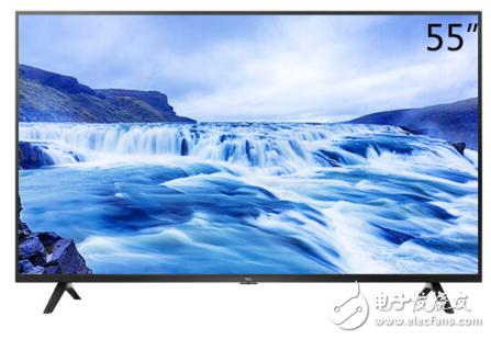 小户型客厅中 55英寸电视必不可少