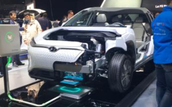 Green Power最新推出電動車的無線充電系統