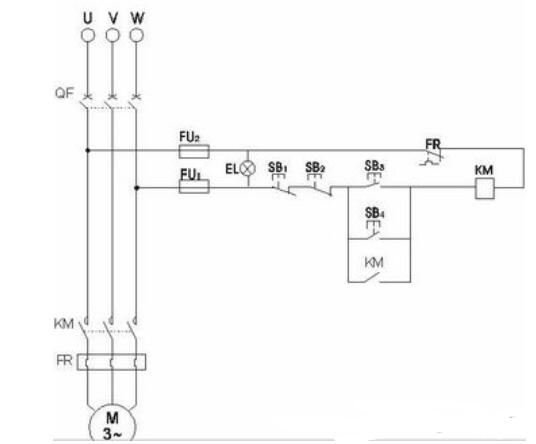 多款兩地控制電機電路圖講解