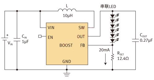 Micrel线性的WLED驱动器设计