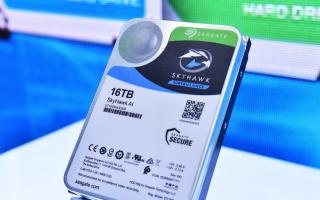 希捷推出首款最大容量人工智能监控硬盘,加强端、边、云全面部署!