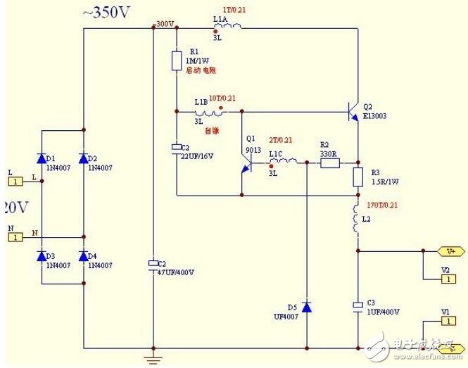led恒流驱动电路图解析