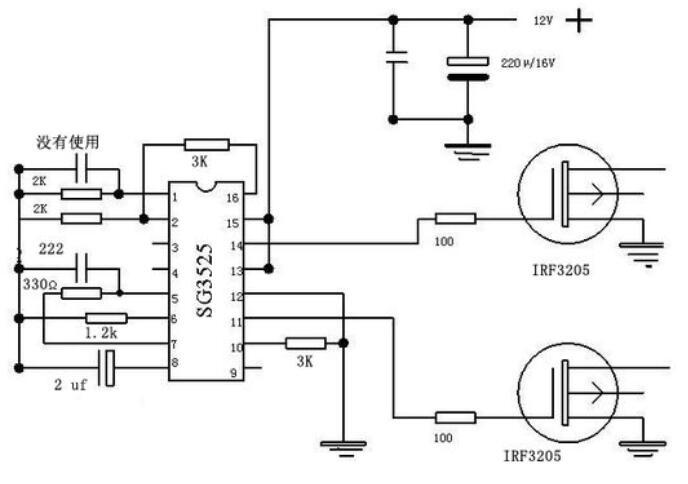 两款irf3205逆变器电路图