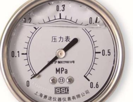 耐震磁助式壓力表的接線原理與應用