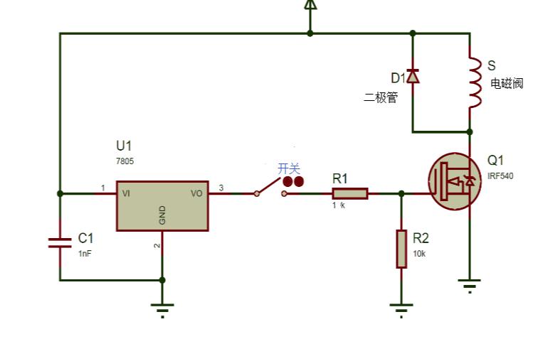 电能到机械能的转换——如何驱动电路中的电磁阀