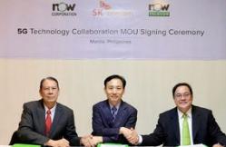 SK与菲律宾运营商合作将在菲律宾建设5G基础设施