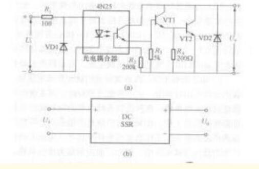直流固態繼電器內部電路_直流和交流固態繼電器電路...