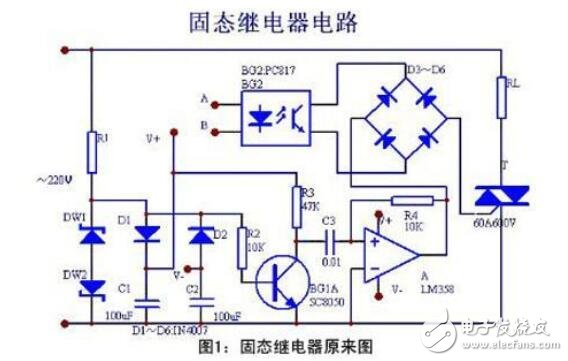 固態繼電器原理圖及作用是什么?