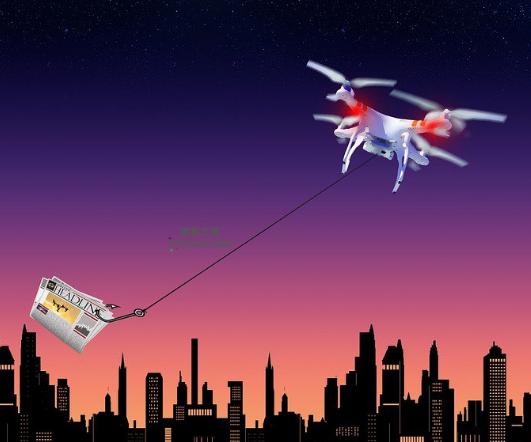 亚马逊计划未来将通过无人机向消费者运输包裹