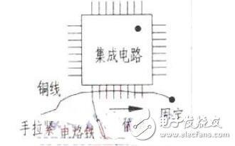 贴片集成电路的拆卸方法_贴片集成电路的拆卸操作过程