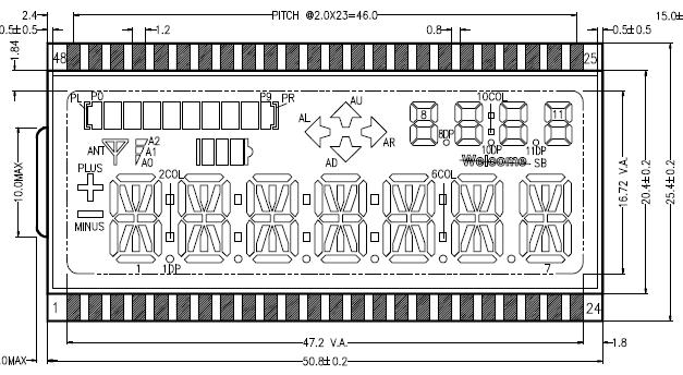 SHC6601开发板配套LCD码表的详细资料免费下载