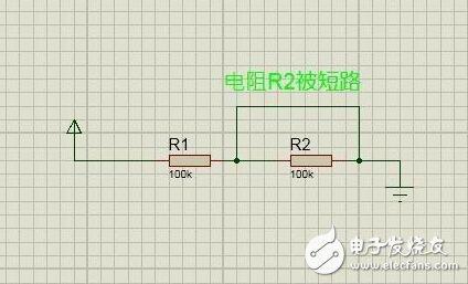 电阻串联电路故障特征及故障处理