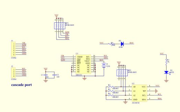 DS3231 I2C实时时钟模块的使用C语言程序合集免费下载