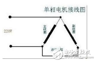 220v电机电容接线图解