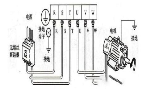 三相变频电机接线图