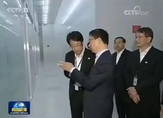 韩正访问参观重庆万国半导体