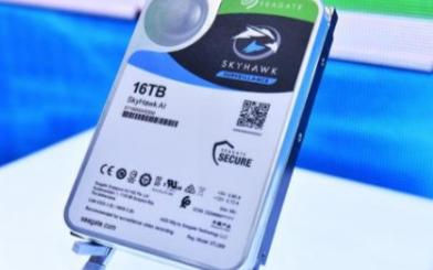 希捷发布全球首款容量最大的人工智能监控硬盘
