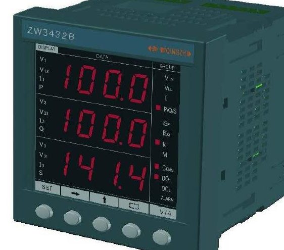 电量表的主要用途和特点