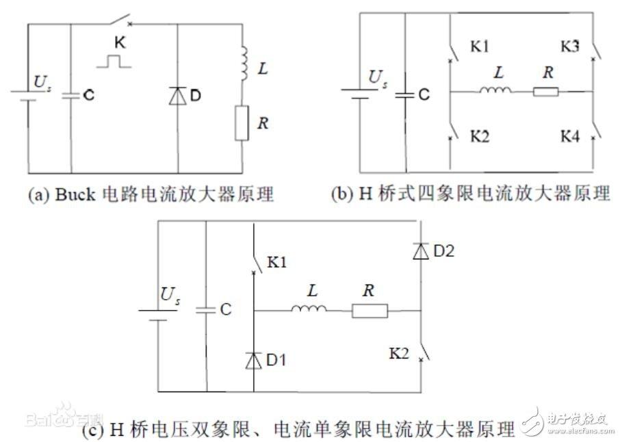 电流放大器原理及结构