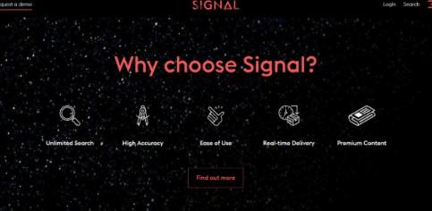 Signal AI獲得新的支持