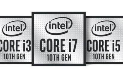 英特尔第十代处理器已经推出了新产品