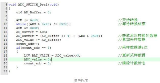 单片机处理ADC采样数据的方法